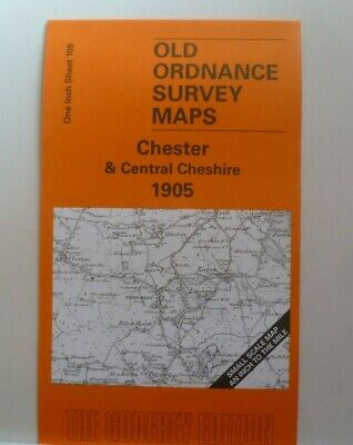Old Ordnance Survey Maps Chester Central Cheshire Northwich Tattenhall 1905 S109