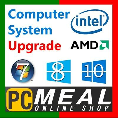 PCMeal Computer System Network Upgrade to Wireless WiFi