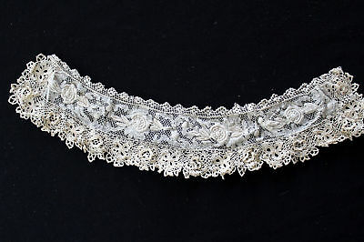 Antique Victorian-Edwardian Irish Lace Collar Piece