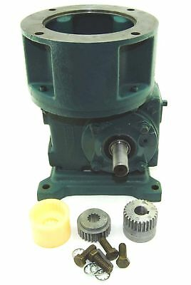 New! Reliance 40:1 C-Face 56WM12J Coupled Speed Reducer