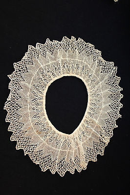 Rare Antique Victorian-Edwardian Period Lace Collar 36