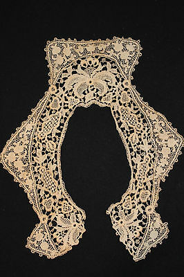 Antique Victorian-Edwardian Period Lace Collar 12 Inch