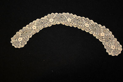 Antique Victorian-Edwardian Irish Lace Collar 17 In.