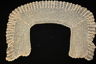 Antique Victorian-Edwardian  Hand Made Lace Collar