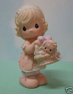 Precious Moments Girl~Give With A Grateful Heart ~Nib