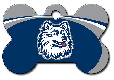 Officially Licensed NCAA UConn Huskies Pet Tag