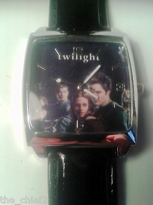 New Twilight Movie Logo Unisex Square Faced Watch