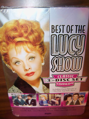 Best of the Lucy Show Classic Comedy 3 Disc DVD Set NEW  #124