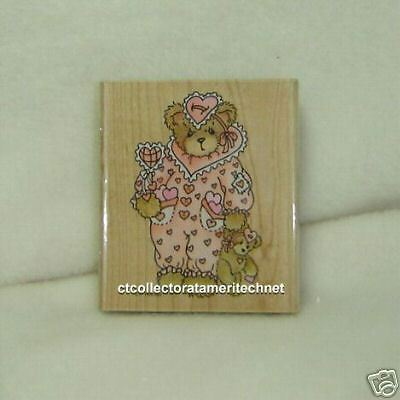 Cherished Teddies Stampendous Stamp Jilly Used