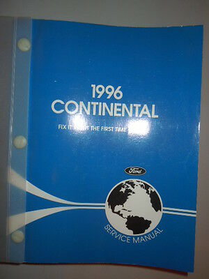 98 lincoln continental owners manual 9 00 picclick rh picclick com 1998 Lincoln Continental Reliability 1998 Lincoln Continental Specs