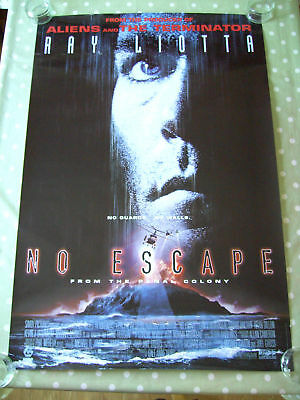 No Escape Original Rolled Cinema Us 1 Sheet Movie Poster 1994 Ray Liotta