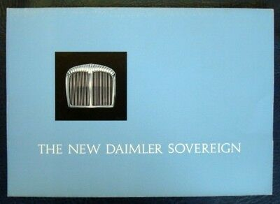 Daimler Sovreign Car Sales Brochure C 1966.