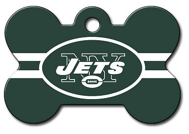 NFL Engraved New York Jets Pet ID Tags fast shipping