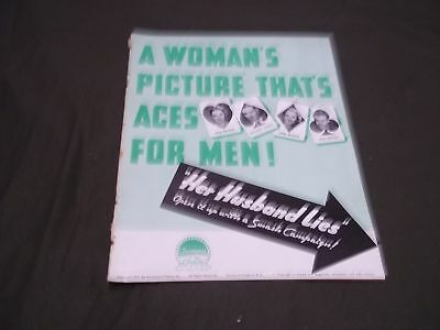 1937 A Woman's Picture That's Aces For Men Movie Press Book Gail Patrick - P 70