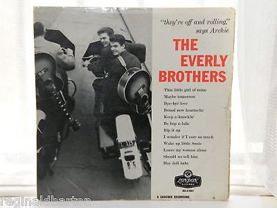 "The Everly Brothers - 12"" Lp 1958"
