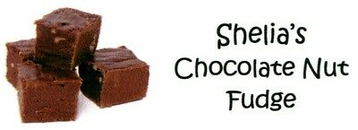 Chocolate fudge Address Labels