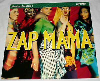 ZAP MAMA: Rare Adventures in Afropea US PROMO POSTER
