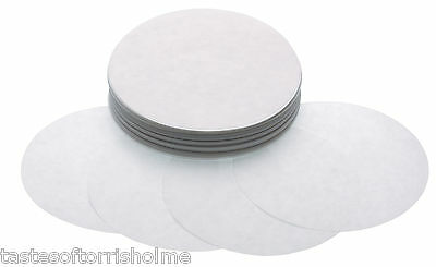 Kitchen Craft 250 x Spare 8.5cm Wax Disks Discs For Home Made Burger Press Maker