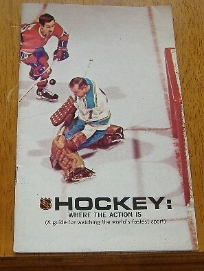 united airlines hockey guide and schedule 1968-69
