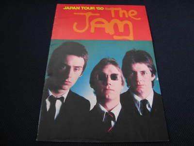 The Jam 1980 Japan Tour Book Concert Program Paul Weller Style Council MOD