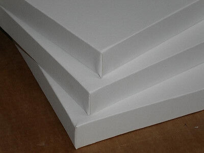 "1.5"" Deep Stretched Canvas for Artists 20x20"" - 3 pack"