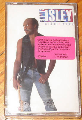 ERNIE ISLEY - High Wire  NEW CASSETTE TAPE