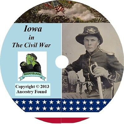 Iowa Civil War Books History & Genealogy 26 Books