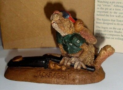 JACK RABBIT  BY TOM CLARK  FROM PIT CREW FOR GNOMECAR