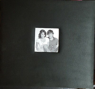 "12""X12"" Classy Black Suede Post Bound Scrapbook Album 30 pages - Crafty Koala"