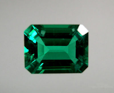 EMERAUDE  HYDROTHERMALE 9x7 mm..2,05 CTS