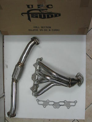 Tsudo T-304 Stainless Steel Headers 95-99 Eclipse Gs/Rs