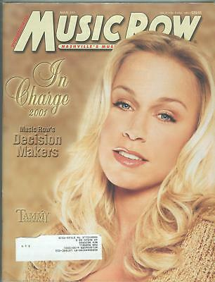 Tammy Cochran cover Music Row magazine 2001 In Charge