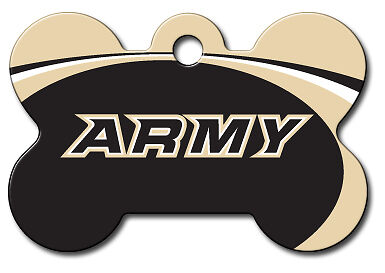 Licensed NCAA U.S. Army Academy Black Knights Pet Tag