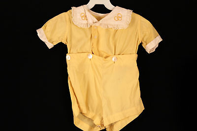 Rare French Vintage 1930's Childs 18-24 Month Outfit