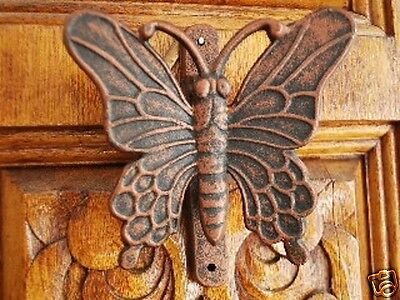 Cast Iron Antique Style Butterfly Door Knocker