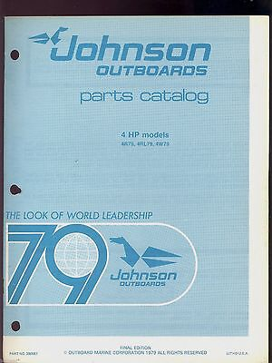 1979 johnson factory outboard motor owners manual 6 hp 14 95 rh picclick com J50 Locmotive J50 Fighter
