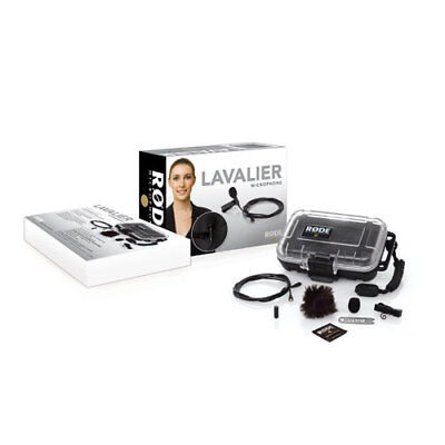 Rode Lavalier Microphone with 10' (3m) Extension Cable