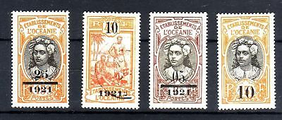 A027- Timbres Oceanie  43 / 46  Neufs + Oblitere