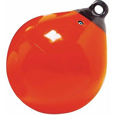 Taylor Made 15 inch Tuff end buoy fender orange heavy