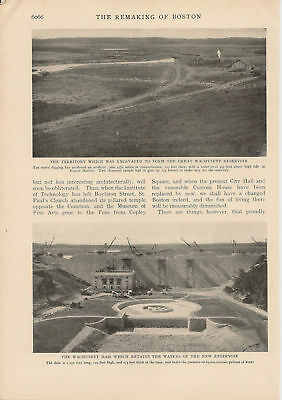 1905 Charles River Basin Project Boston article