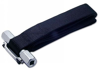 "Heavy Duty Oil filter Strap Wrench Remover 1/2"" or 3/8"" Drive  SELF LOCKING"