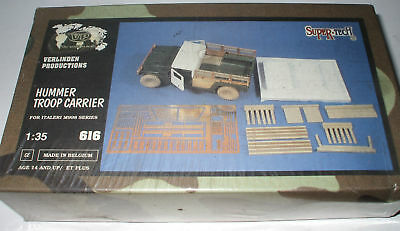 Verlinden 616 Hummer Troop Carrier 1/35 Resin Kit
