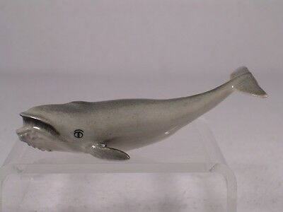 Klima Miniature Porcelain 'Baleen Grey Whale' Figurine  #K0181  NEW!
