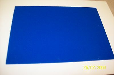 3 mm A4  Blue (solid colour) PERSPEX  ACRYLIC SHEET 297 mm x 210 mm