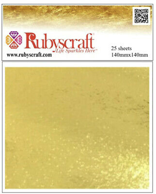 24ct Gold Leaf 100% Genuine 20 sheets - Craft and Arts