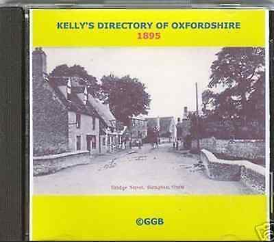 Genealogy Directory Of Oxfordshire 1895 Cd Rom
