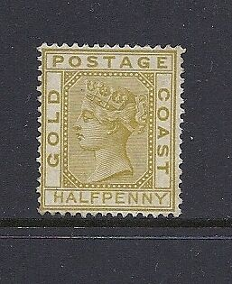 GOLD COAST 1876 1/2d SG 4 No gum