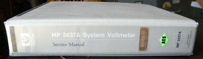 Hp 3437A System Voltmeter Service Manual