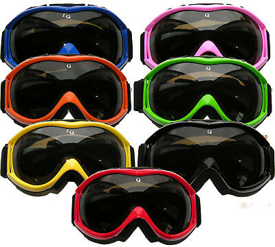Qtech EVO GOGGLES for MOTOCROSS Skiing Sport General Helmet
