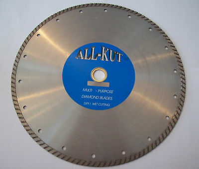 "1 All Kut 12"" Turbo Diamond Circular Saw Blades Dry/wet"